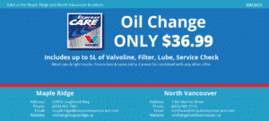 Mr Express Care Oil Change Coupons 2015-01