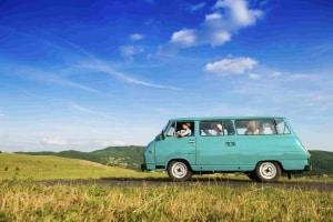 Car maintenance on a road trip