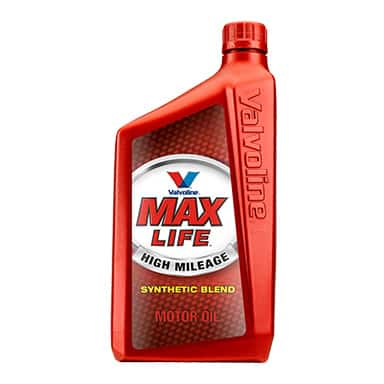 Max Life high mileage motor oil